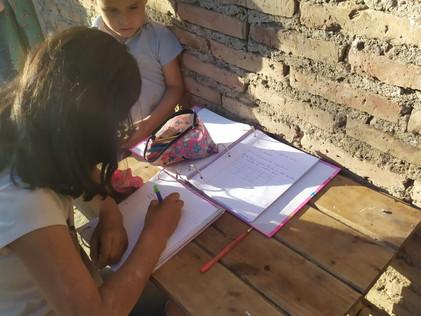 2021 Junio. Educación virtual en el monte Santiagueño