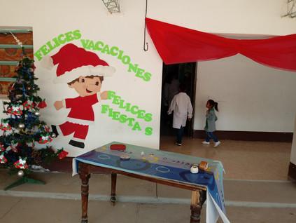 2018 Diciembre, en la escuela de Yacu Hurmana, en el cierre del ciclo lectivo.