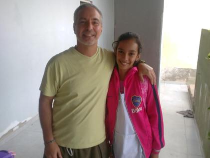 2017 Marzo, Escuela de Santa Rosa de Casares.