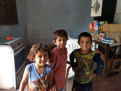 """2021 Abril """"Entrega de Alimentos a nuestras Familias Amigas de Suncho Corral"""""""