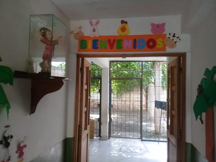 2019 Marzo, en el Jardín Mis Huahuitas, comenzando las clases...