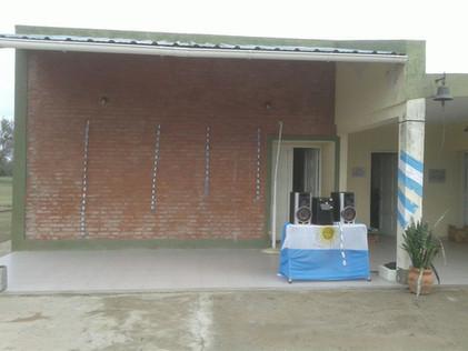 2017 Julio, Escuela de Santa Rosa de Casares.