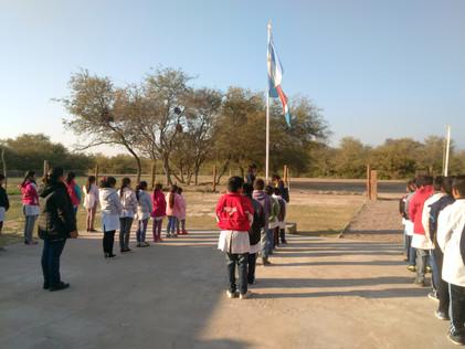 2016 Agosto, Escuela de Santa Rosa de Casares