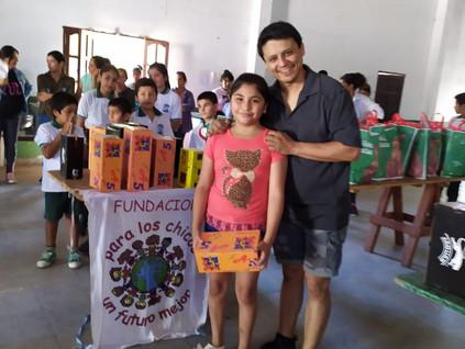 2019 Diciembre, en el colegio Parroquial de Suncho Corral, cerrando el año...