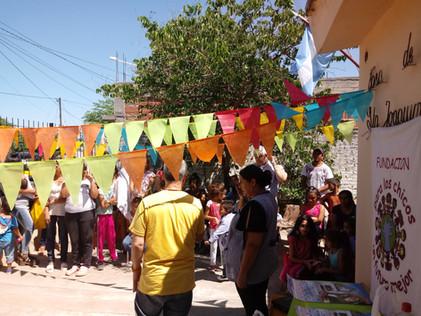 2018 Noviembre, en el Jardincito Mis Huahuitas, Fiesta de Egreso de los alumnitos de Salita de 5.