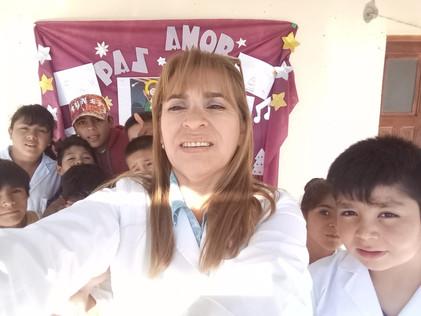 2019 Diciembre, En la escuela de La Candelaria, cerrando el año…