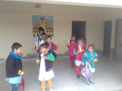 2017 Julio, Escuela de La Candelaria.