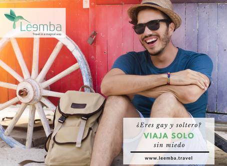 ¿Eres gay y soltero? Viaja solo sin miedo