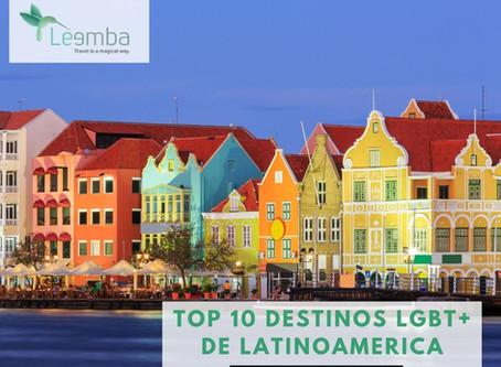 Top 10 Destinos LGBT+ de Latinoamerica