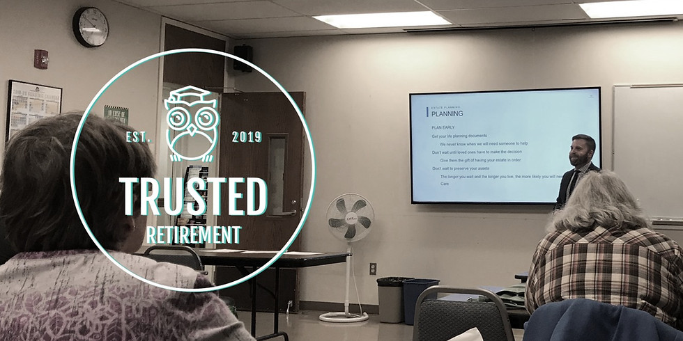 Trusted Retirement 5.0   Two-Day Seminar