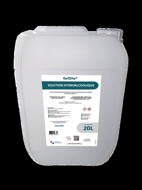 Solution hydroalcoolique en bidon de 20L GelSite®