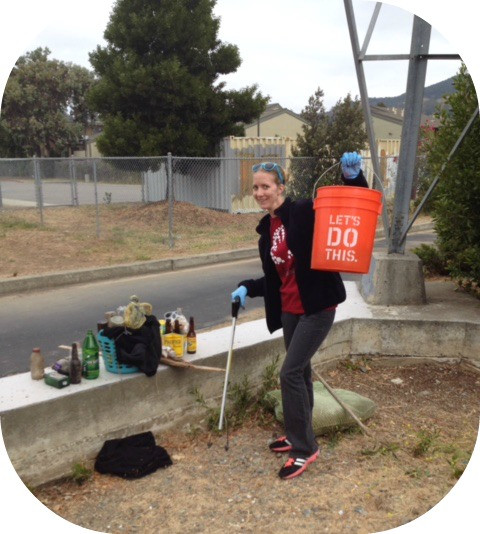 "MARA IS SUPPORTING THE MONTECITO CLEAN UP WITH SAN RAFAEL HIGH SCHOOL FOR ""NATIONAL MAKE A DIFF"