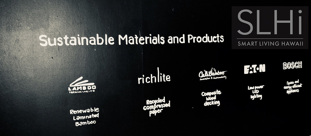 Sustainable Materials and Products