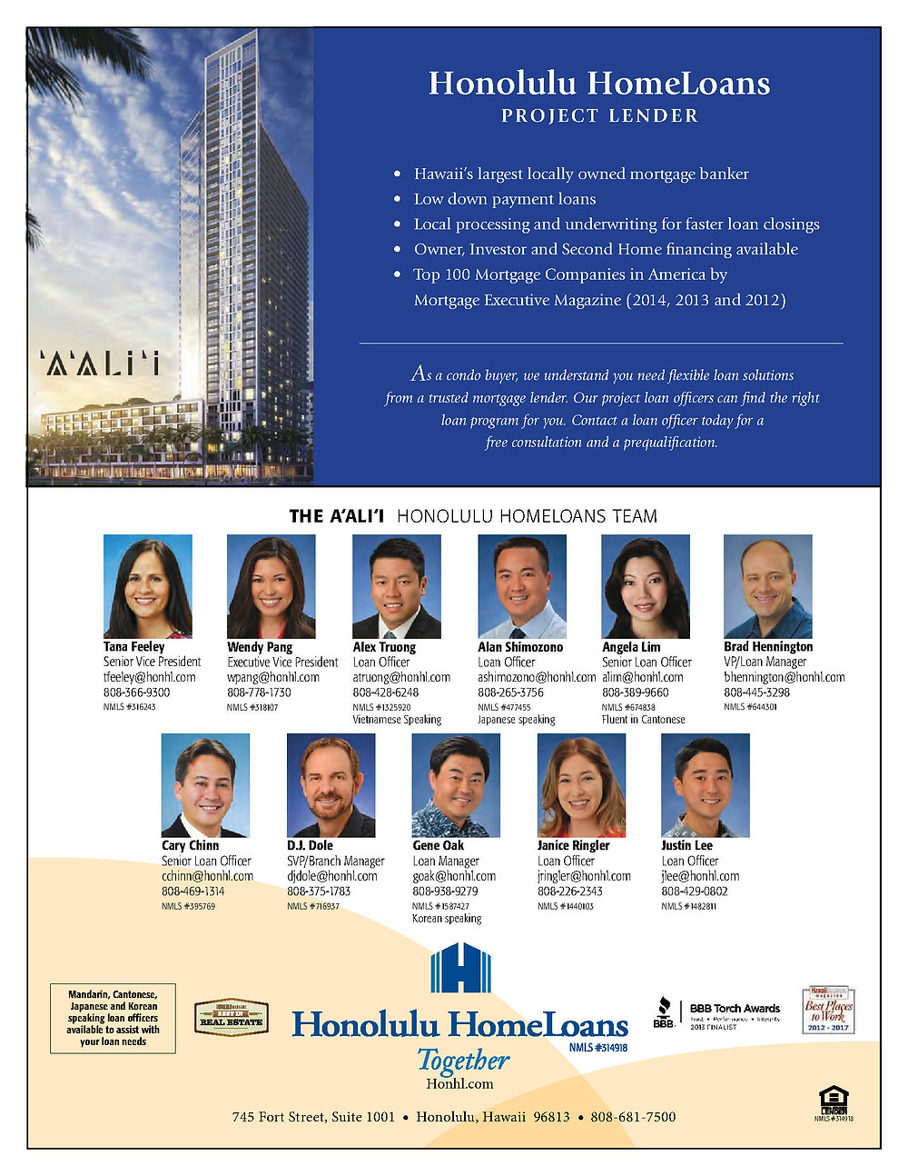 Honolulu HomeLoans