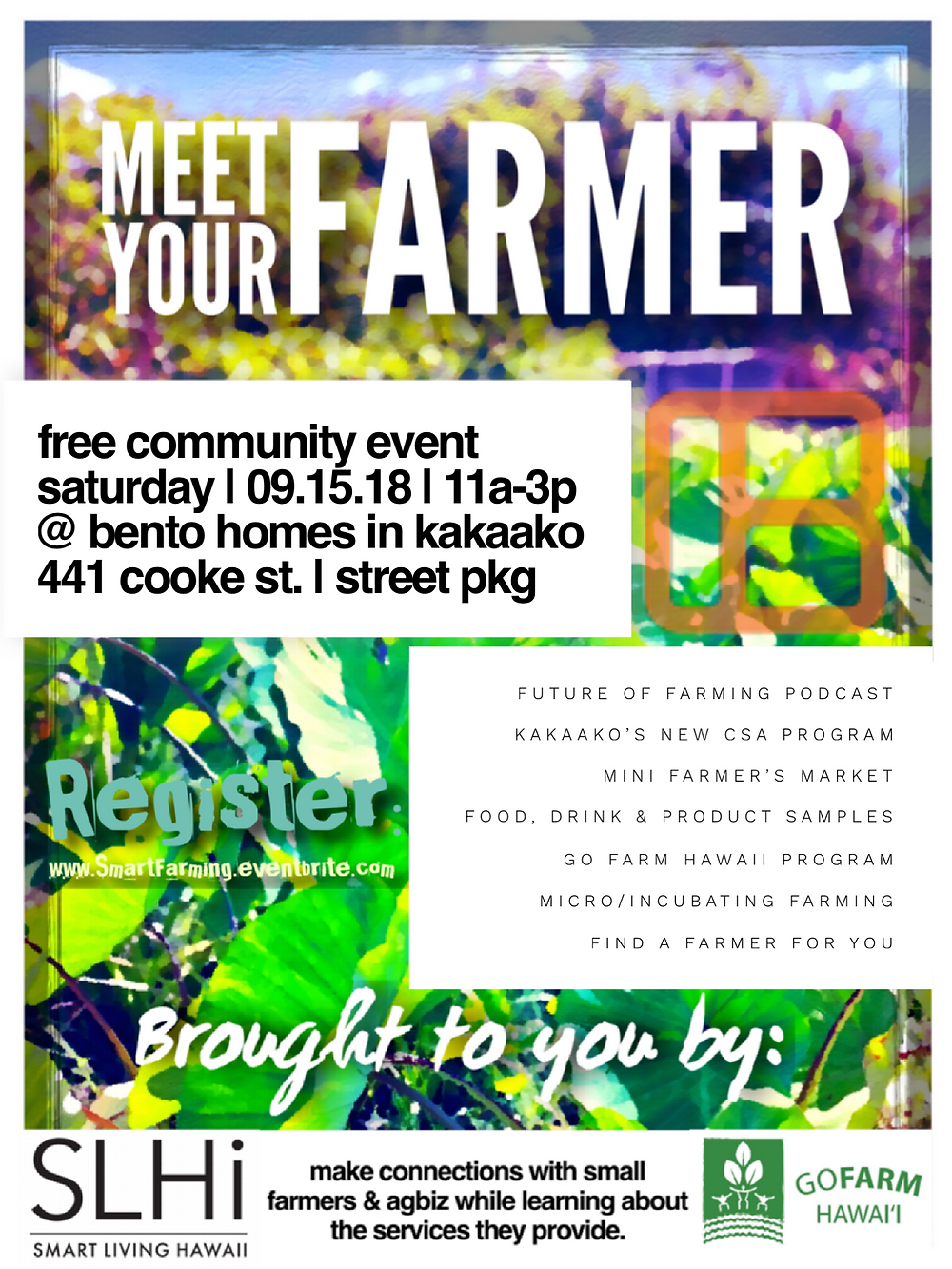 Meet Your Farmer Event