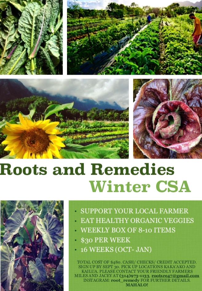 Winter CSA Program