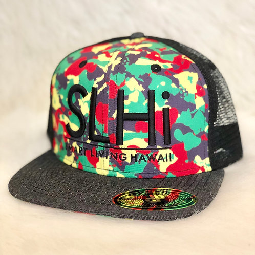 Camo Hat (Red)