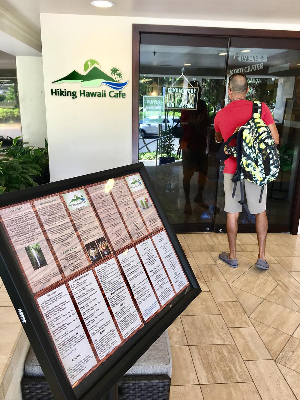 Entrance at Double Tree lobby