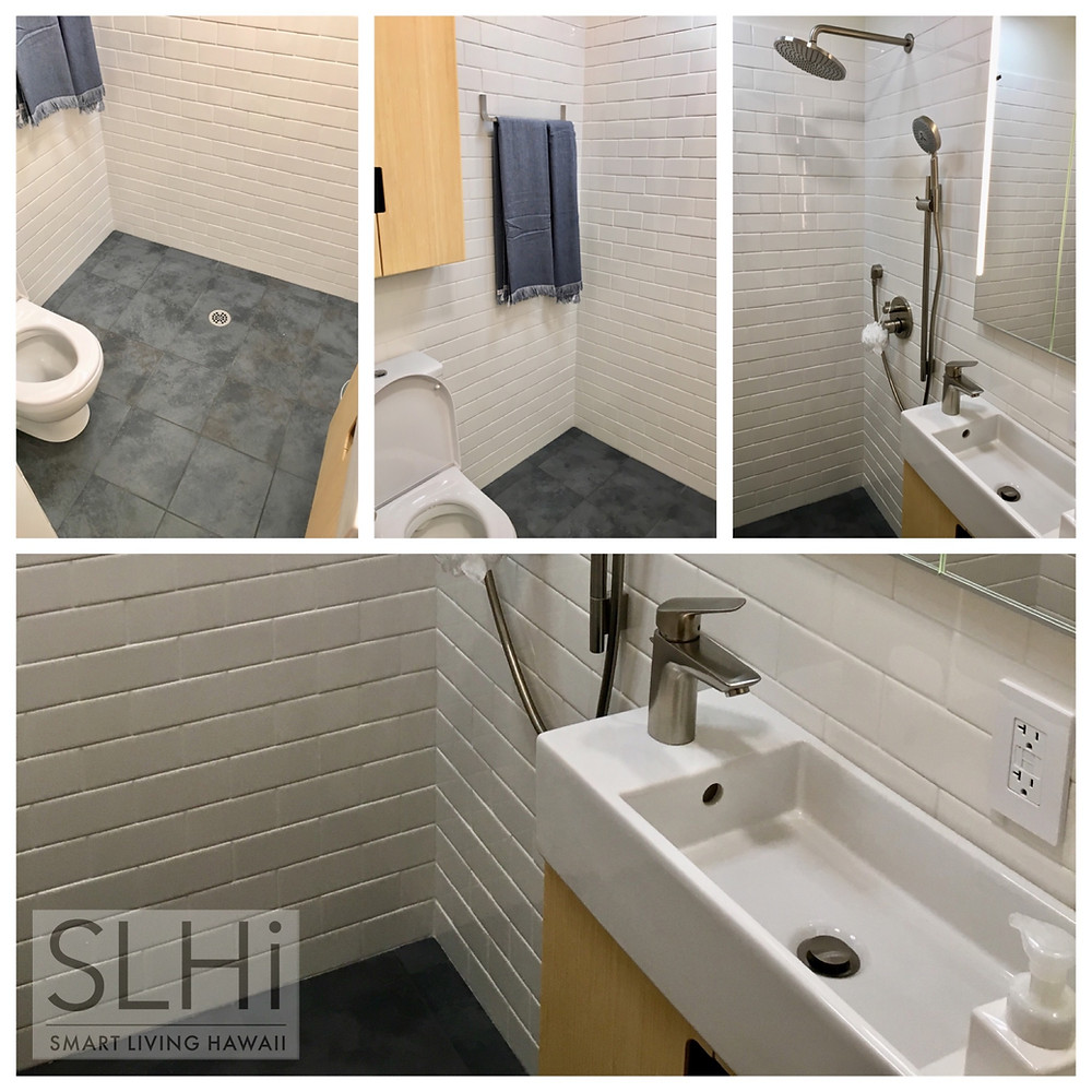 Bathroom: Efficient Layout