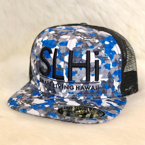 Camo Hat (Blue)