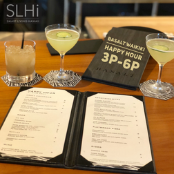 Happy Hour Highlight: Basalt at Duke's Lane Waikiki