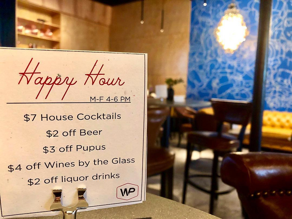 Happy Hour Details