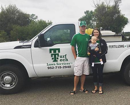Turf Tech Lawn Services is locally owned and operated