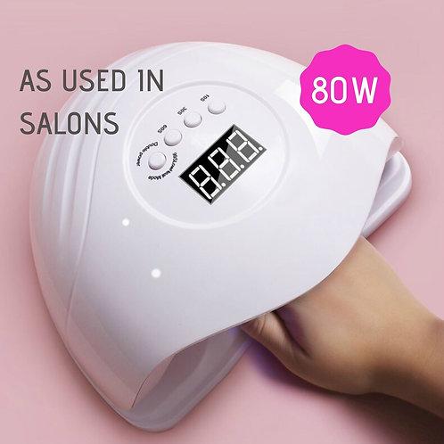 80W UV/LED Lamp (Nail Dryer)