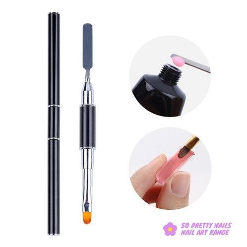 Dual Gel Brush & Spatula Tool