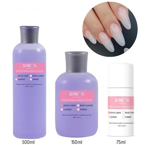 Acrylic Liquid (75ml / 150ml/ 500ml)