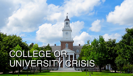 College or University Crisis