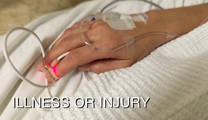 ILLNESS OR INJURY