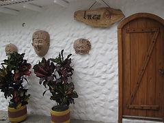 Entrance to Inca Ecuador