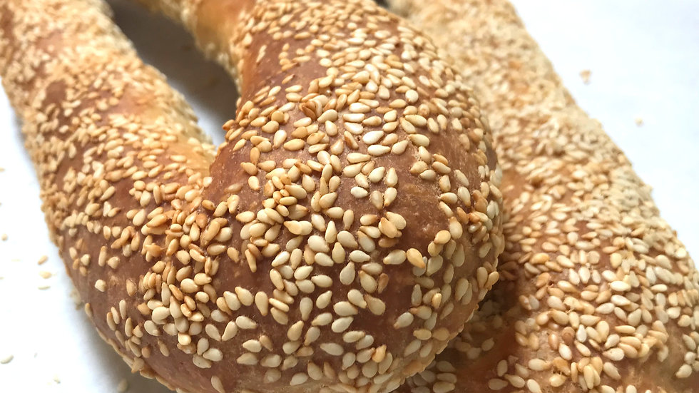 Jerusalem Sesame Bagel