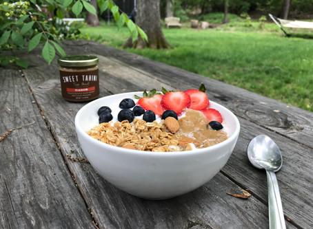 Tahini for breakfast