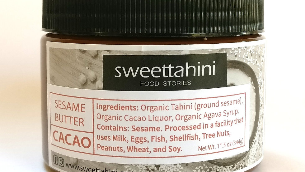 Sesame Butter - Cacao