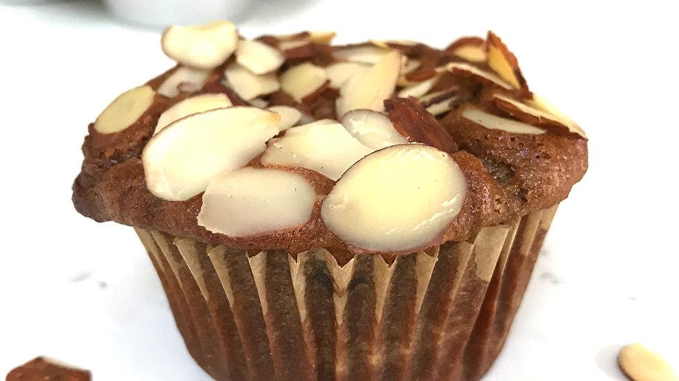 Tahini Almonds Muffin (2-Pack)