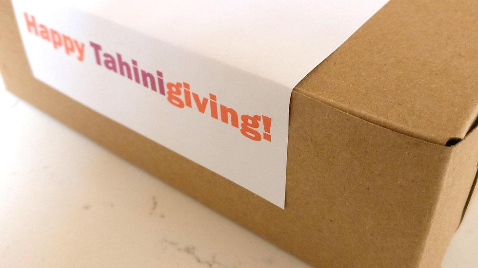 Happy TahiniGiving Cookie Box