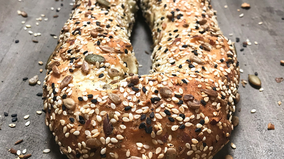 Seeded Jerusalem Bagel