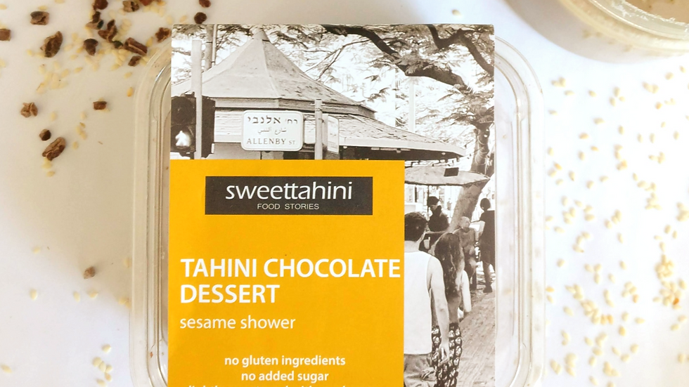 Tahini Chocolate Dessert - Sesame Shower