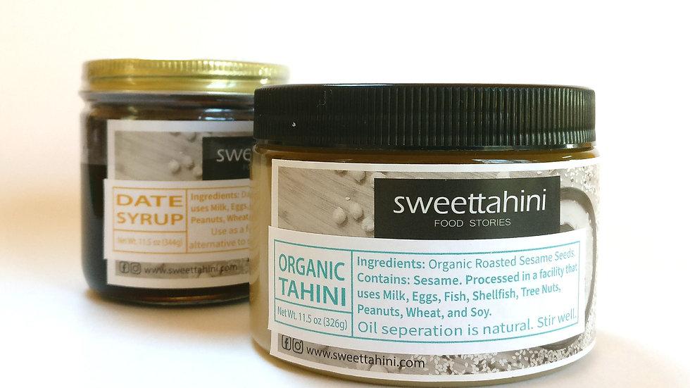 Organic Tahini Paste & Date Syrup