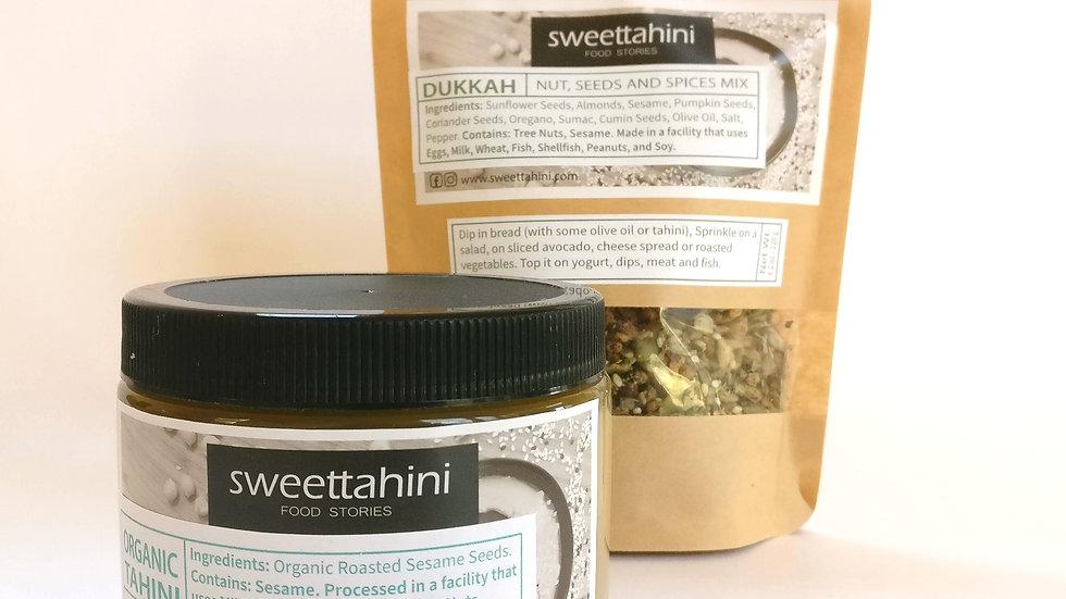 Organic Tahini & Dukkah