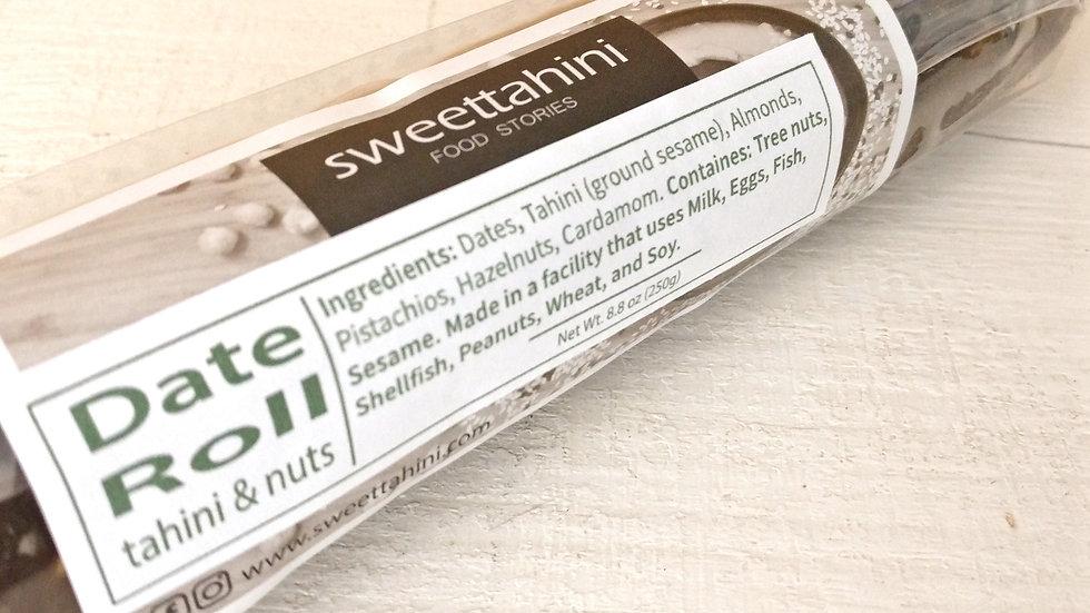 Date Roll - nuts (add-on item)