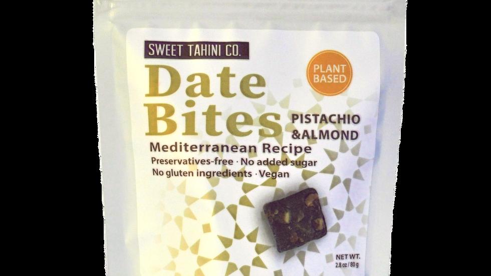 Date Bites - Almonds & Pistachio