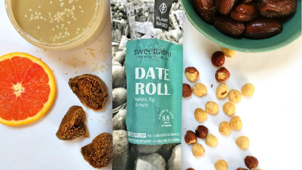 Date Roll - tahini, fig & nuts