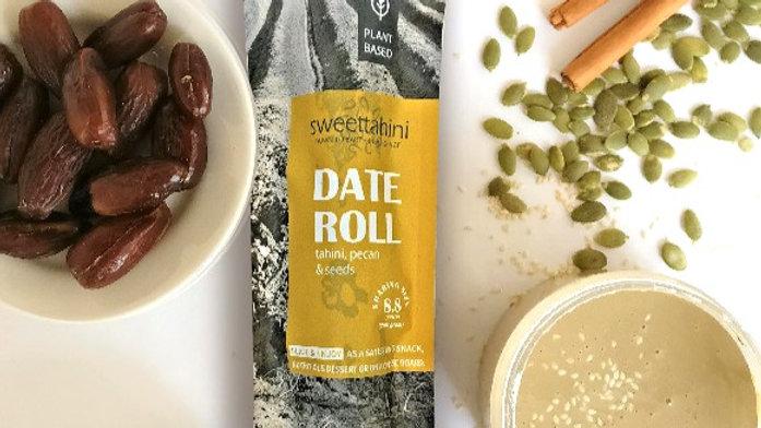 Date Roll  - tahini, pecan & seeds