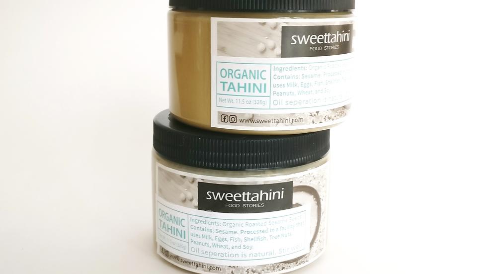 Organic Tahini Paste- 2 Pack