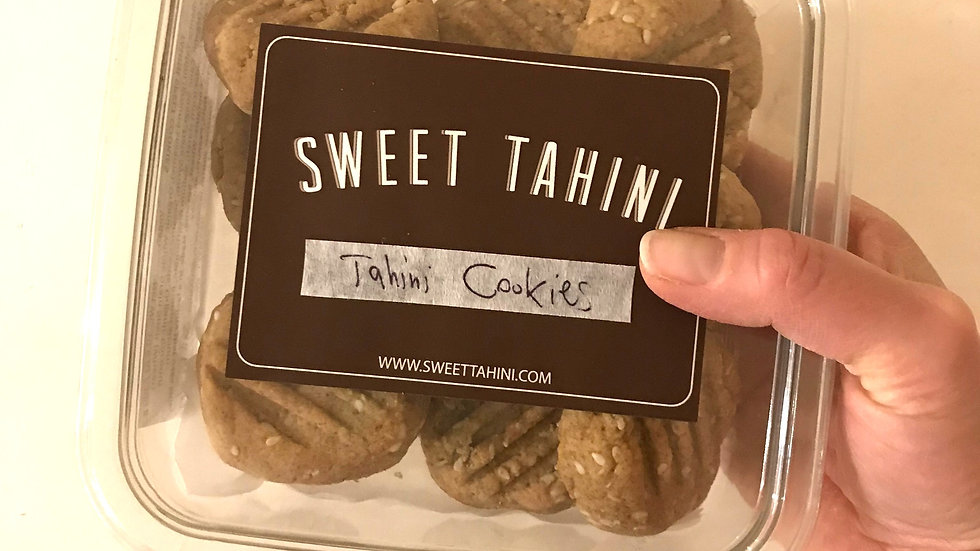 Tahini Spelt Cookies (10-pack)