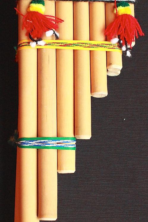 Sicu ( Medium Bamboo Pan Flute)