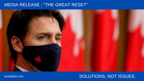 """""""THE GREAT RESET"""""""